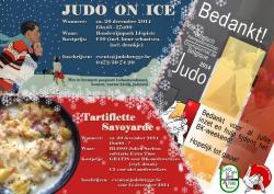 Judo on ice + Tartiflette Savojarde
